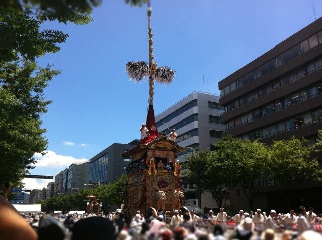 Don't miss the Gion Matsuri Festival !!